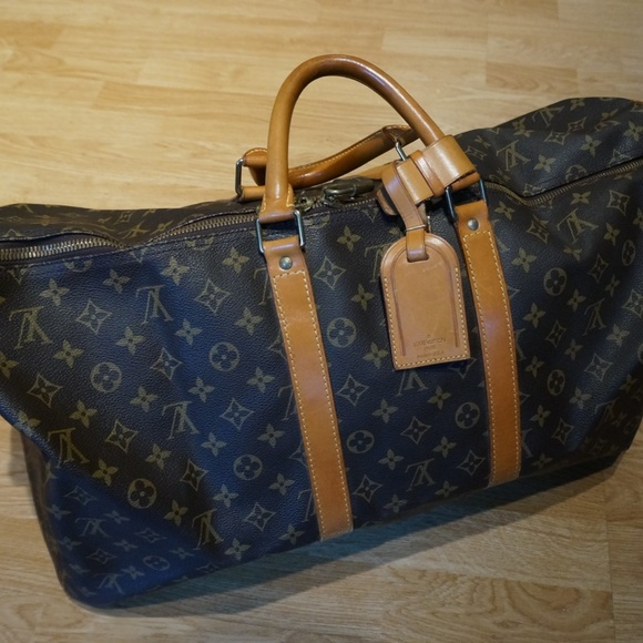 Vintage Louis Vuitton Duffle Bag *Barely Used*